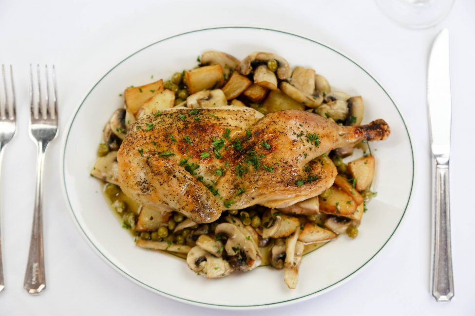 Chicken Clemenceau