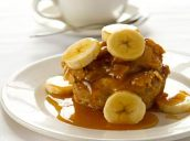 bread pudding with banana